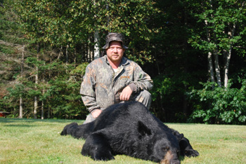 Guided Bear Hunting Trips using Hounds
